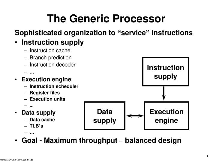 The Generic Processor