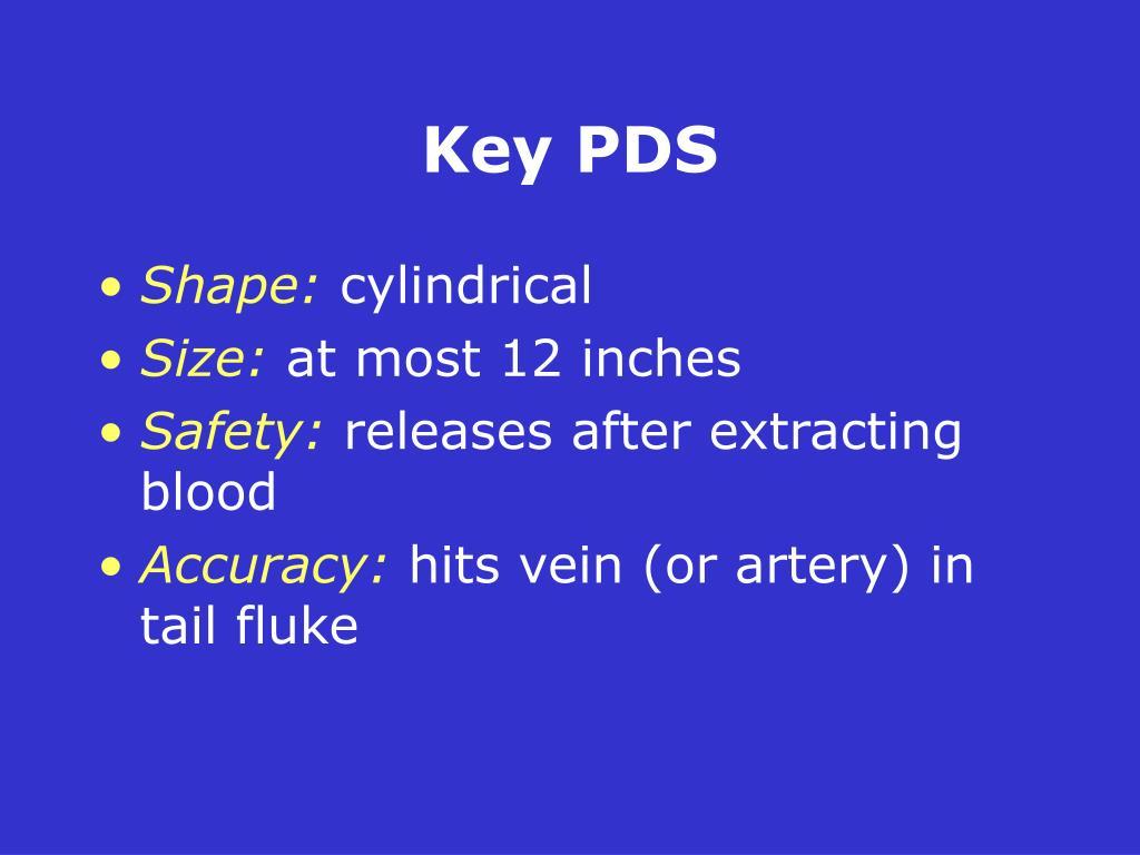 Key PDS
