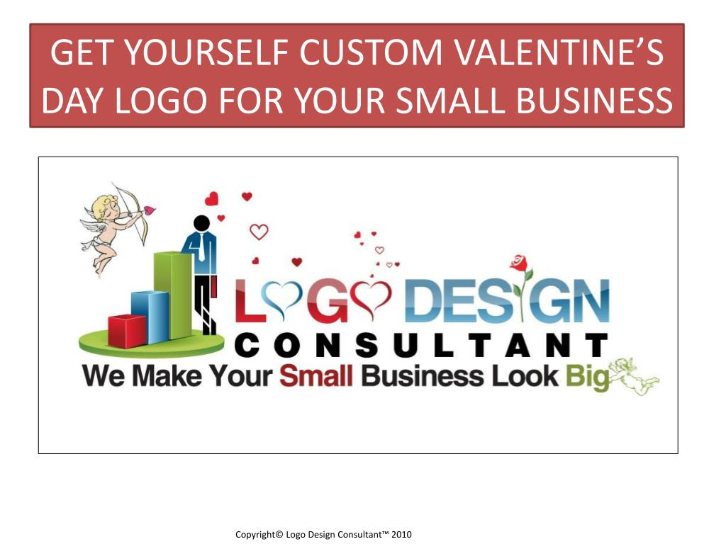GET YOURSELF CUSTOM VALENTINE'S DAY LOGO FOR YOUR SMALL BUSINESS