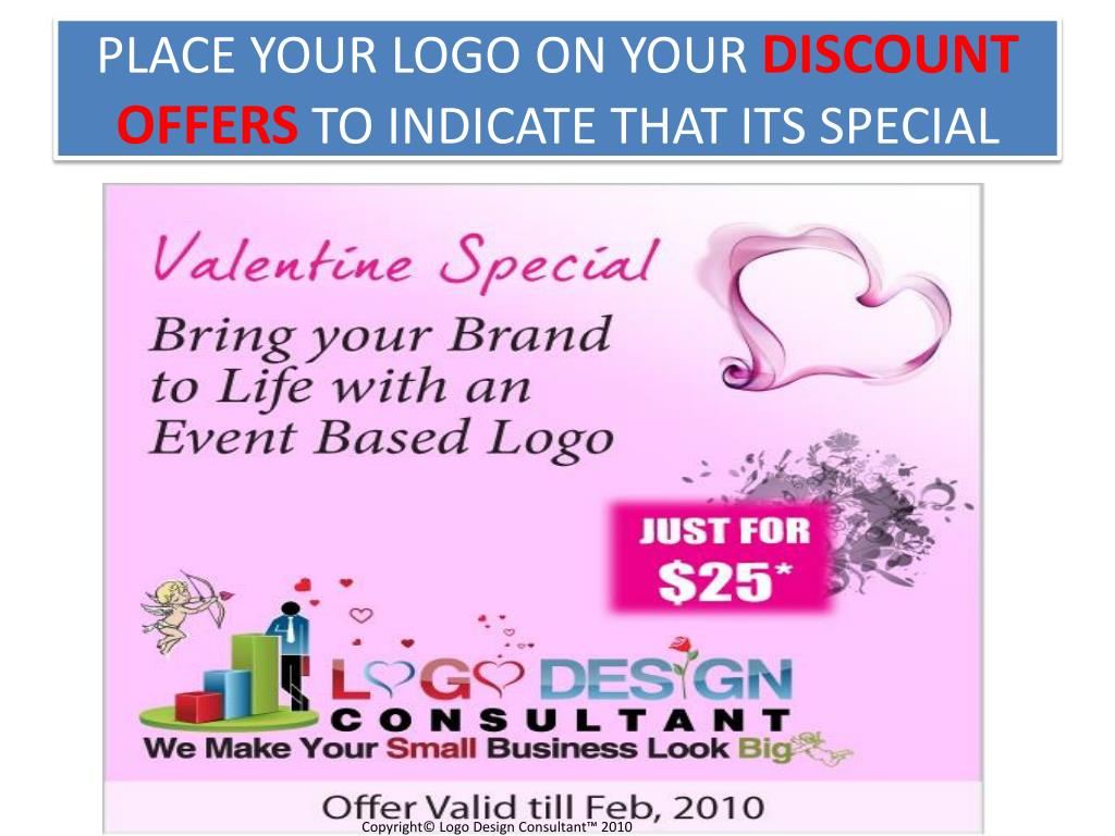 PLACE YOUR LOGO ON YOUR