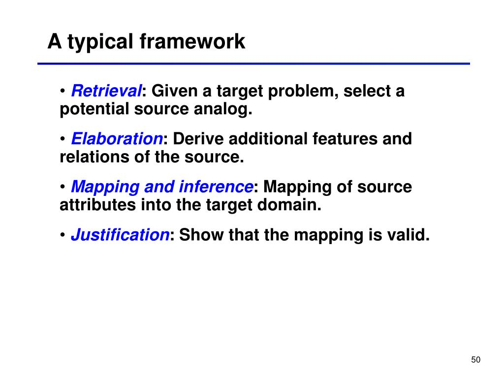 A typical framework