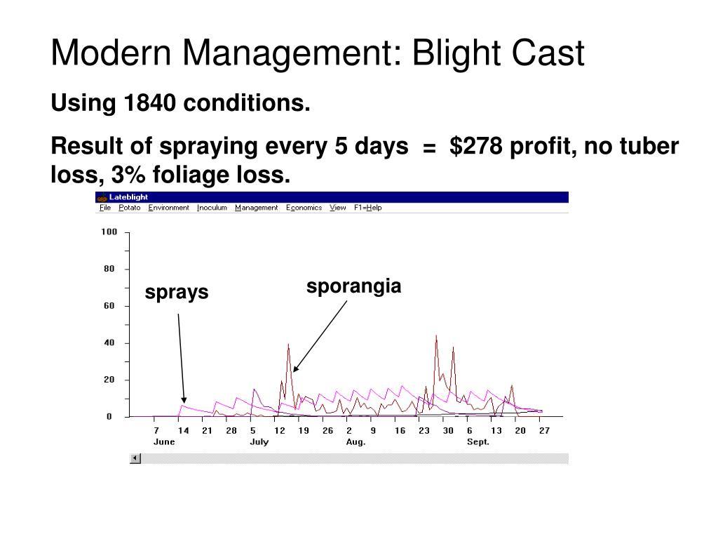 Modern Management: Blight Cast