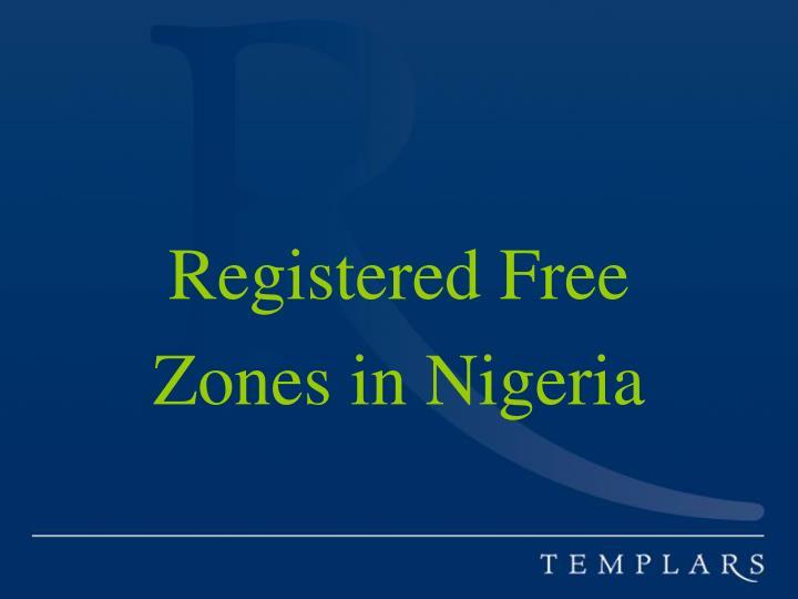 Registered Free