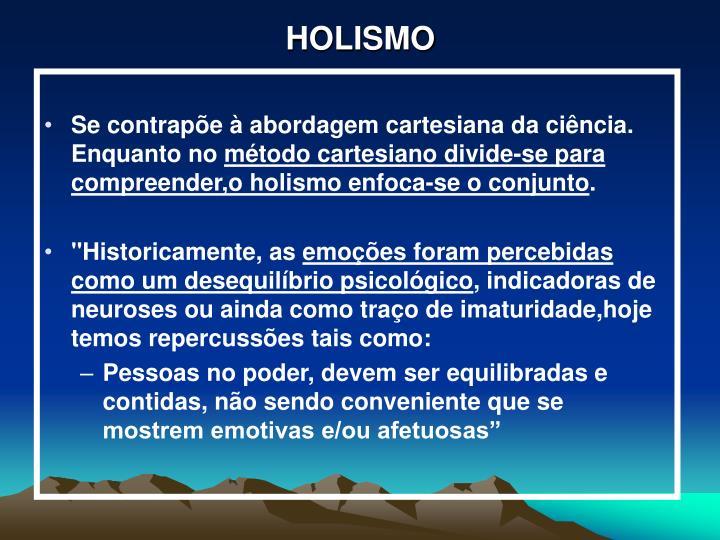 HOLISMO