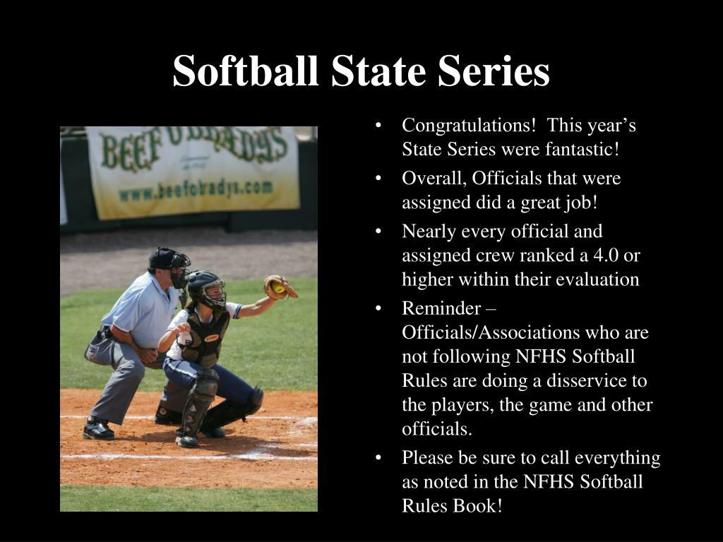 Softball State Series