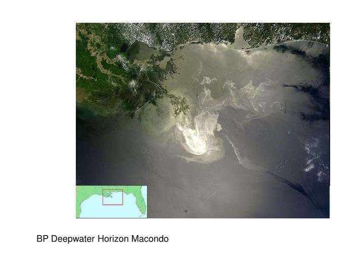 BP Deepwater Horizon Macondo