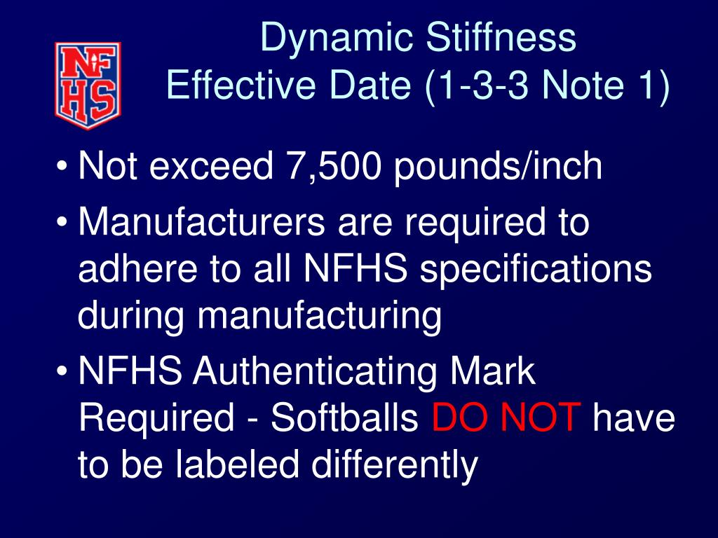 Dynamic Stiffness
