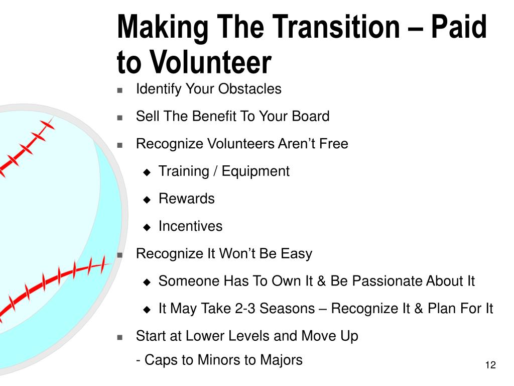 Making The Transition – Paid