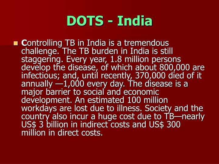 DOTS - India