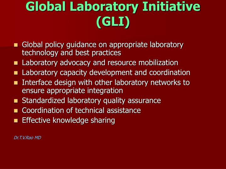 Global Laboratory Initiative (GLI)