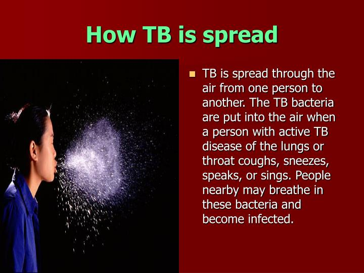 How TB is spread