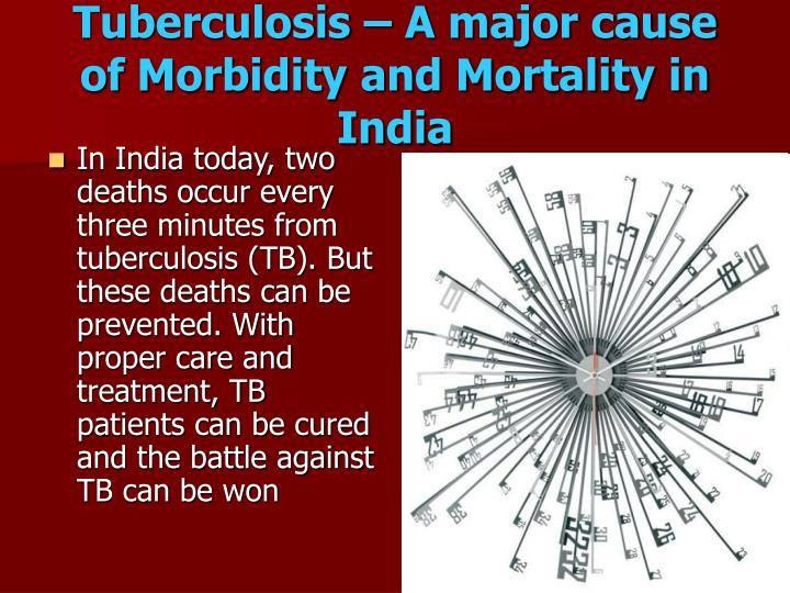 Tuberculosis – A major cause of Morbidity and Mortality in India