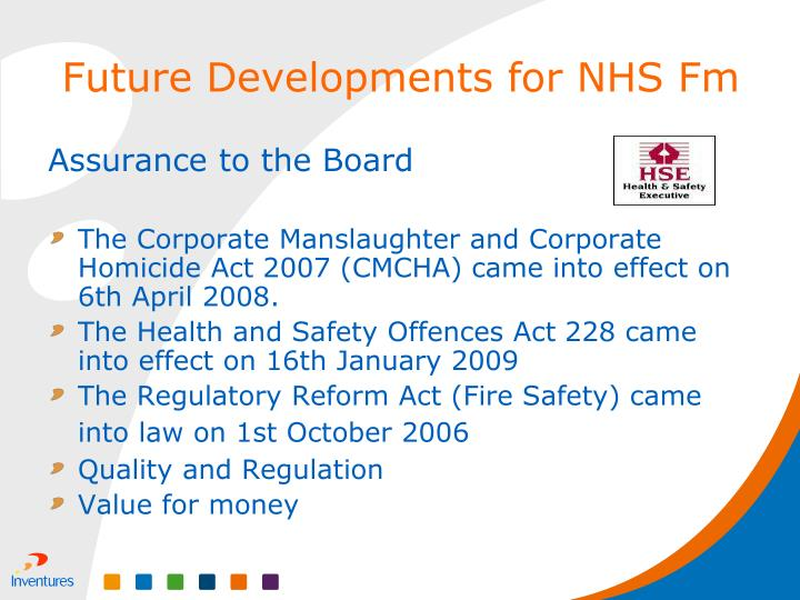 Assurance to the Board