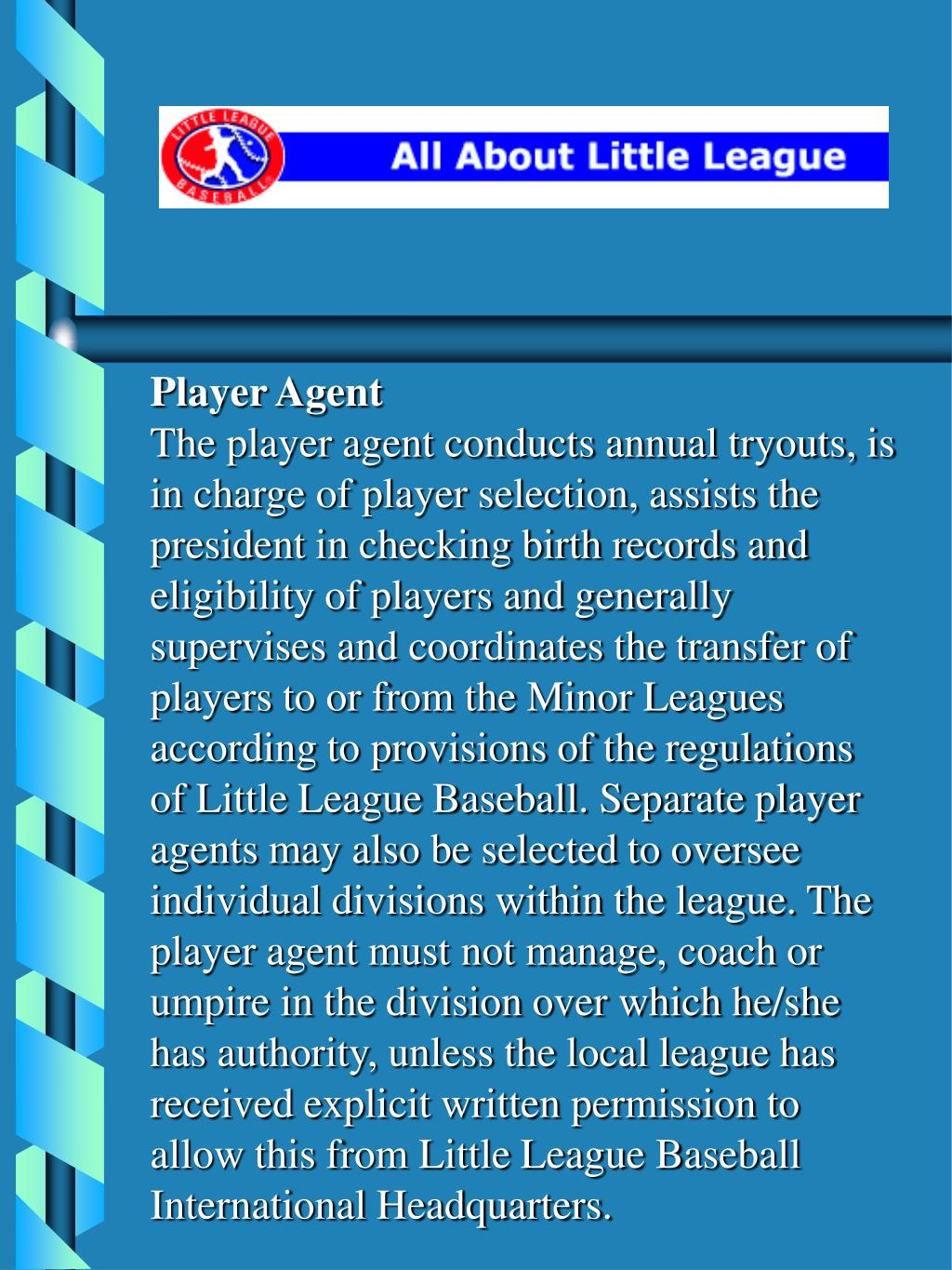 Player Agent