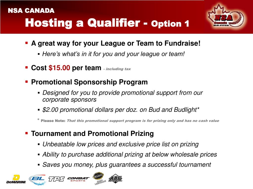 Hosting a Qualifier -
