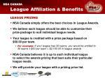 league affiliation benefits10