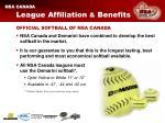 league affiliation benefits15