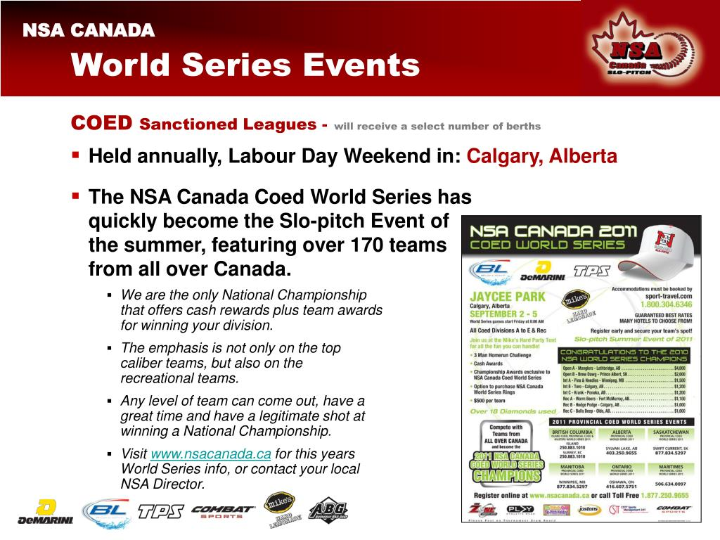 World Series Events