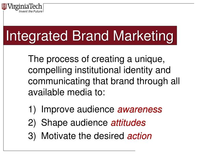 Integrated Brand Marketing