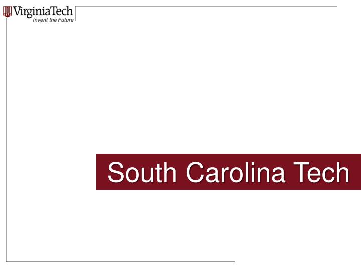 South Carolina Tech