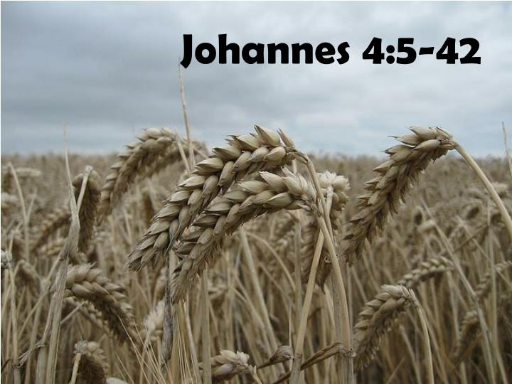 Johannes 4:5-42