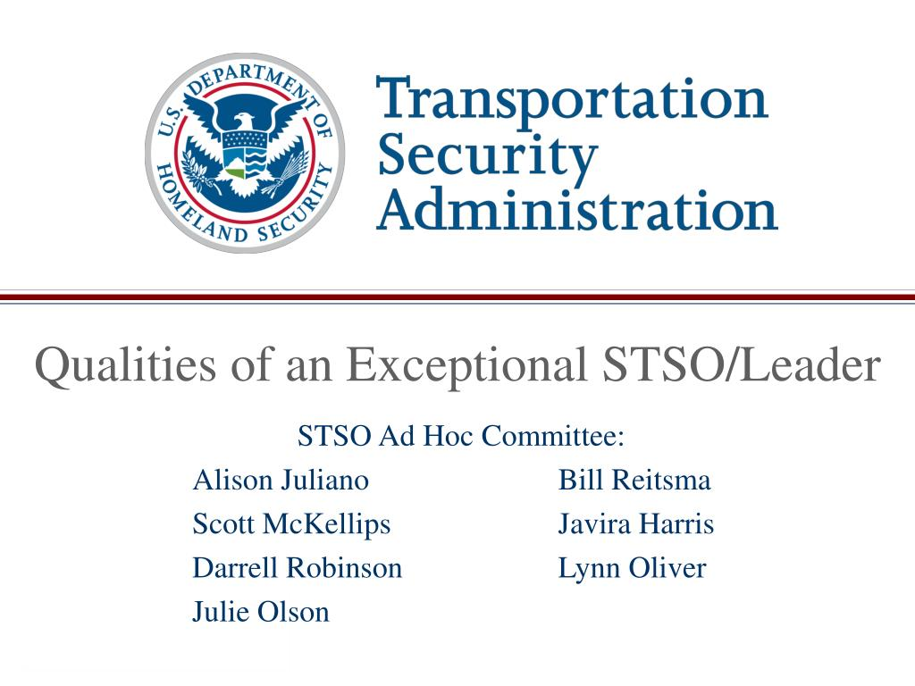 Qualities of an Exceptional STSO/Leader
