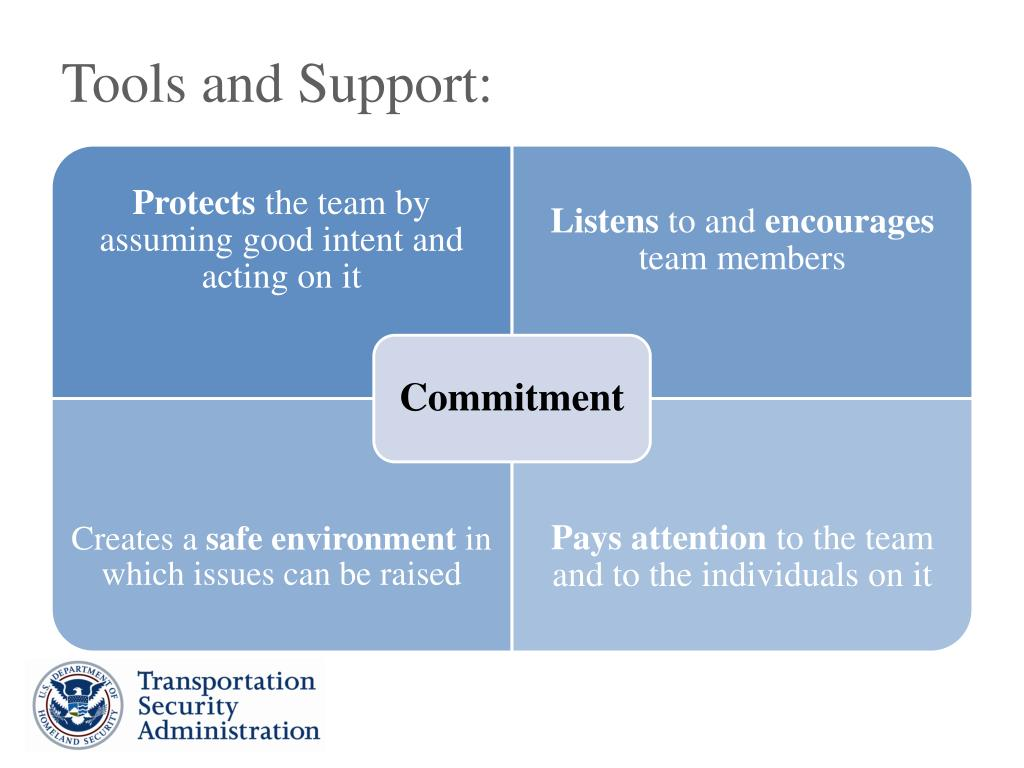 Tools and Support: