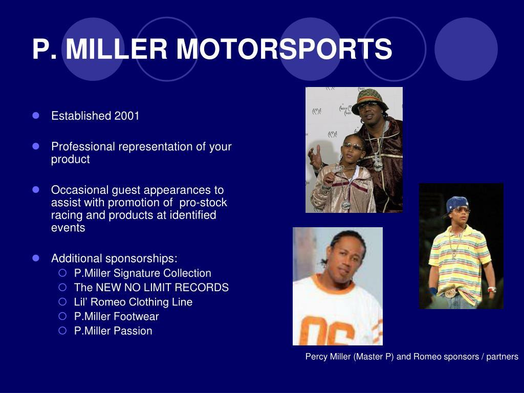 P. MILLER MOTORSPORTS