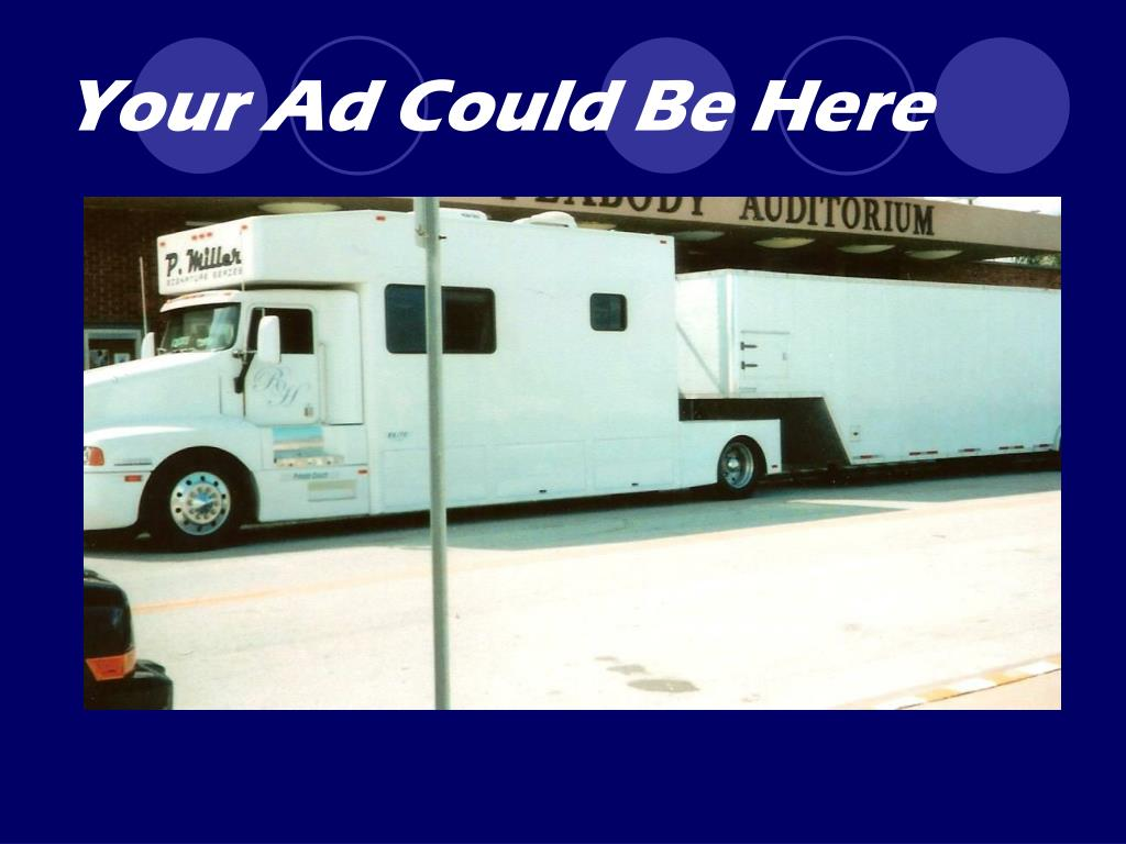 Your Ad Could Be Here