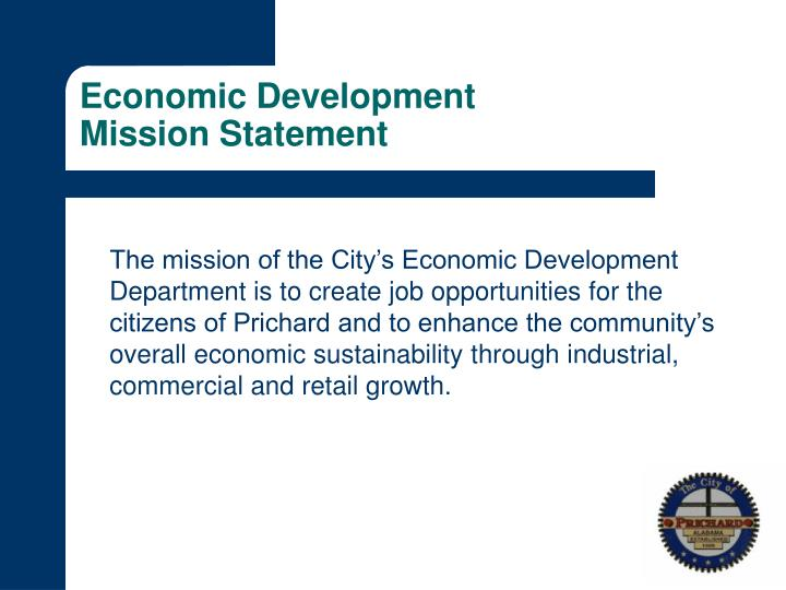 Economic development mission statement