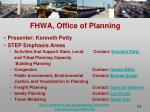 fhwa office of planning