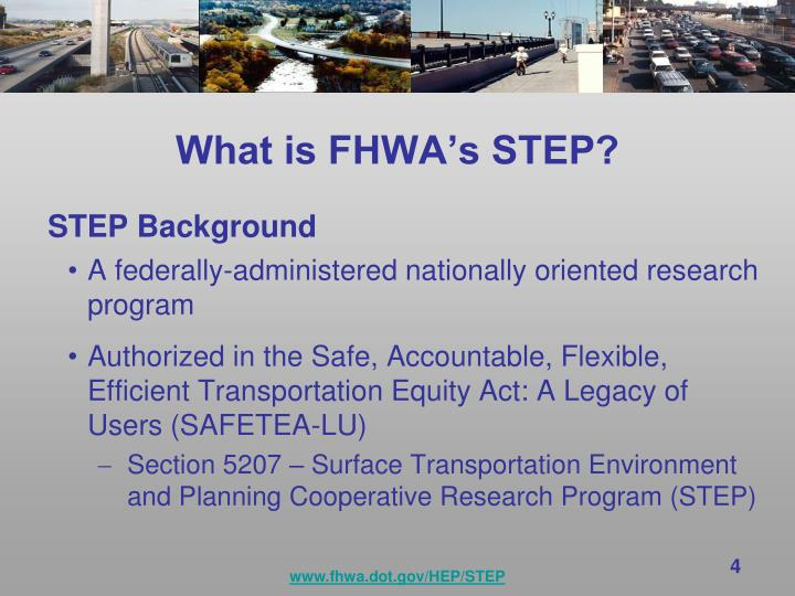 What is fhwa s step