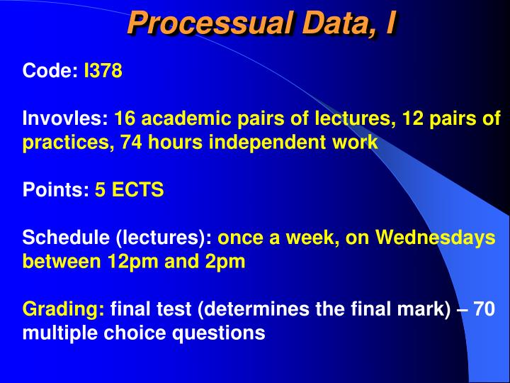 Processual