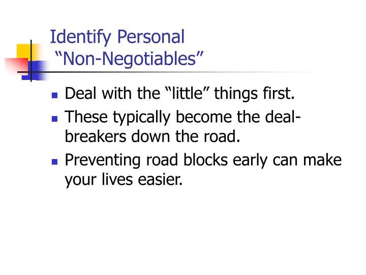 Identify Personal