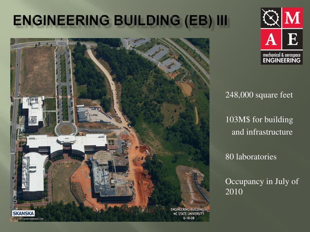 Engineering Building (EB) III