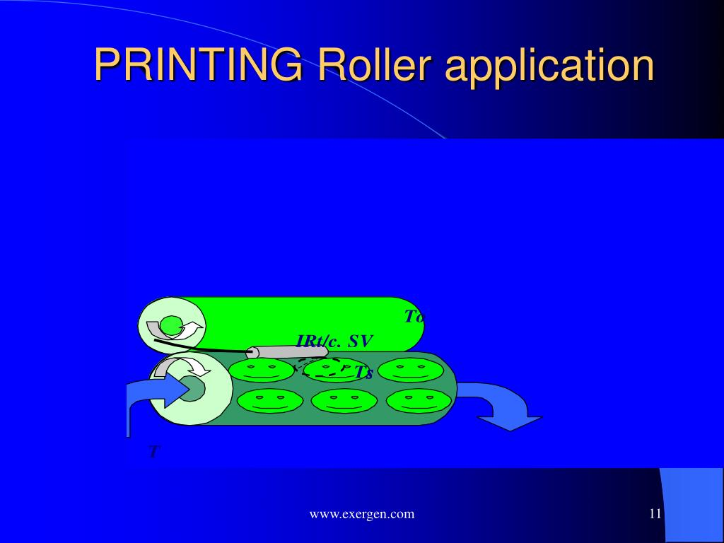 PRINTING Roller application
