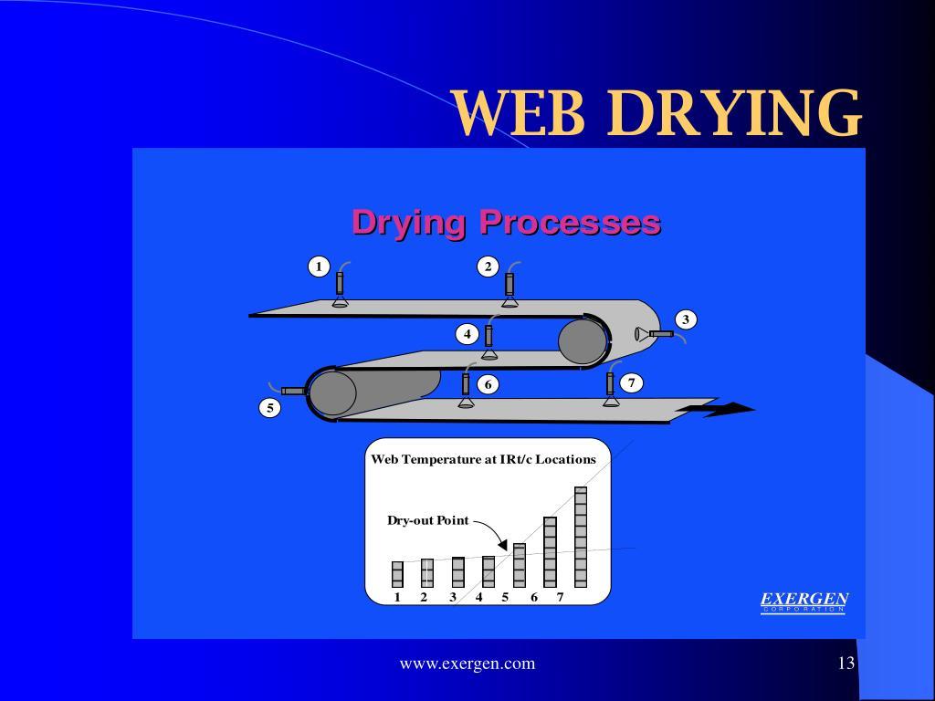 WEB DRYING