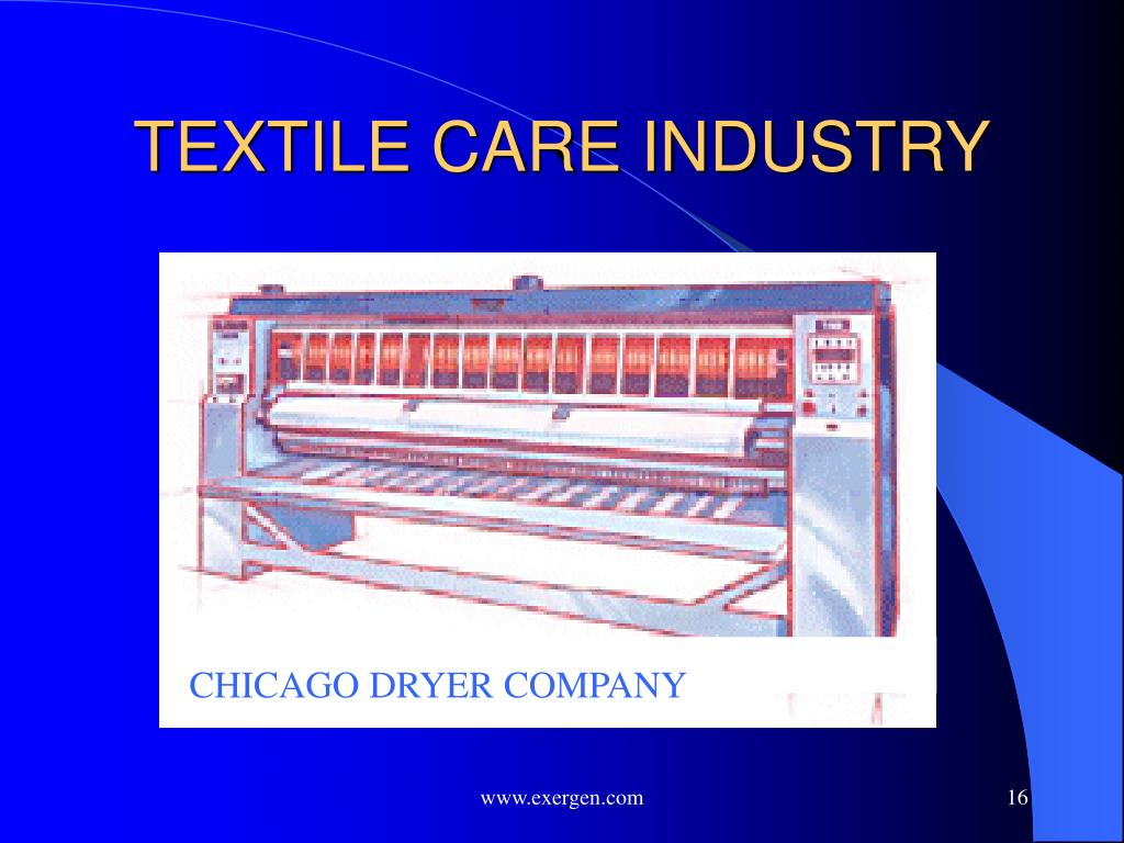 TEXTILE CARE INDUSTRY