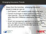 emerging insurance trends