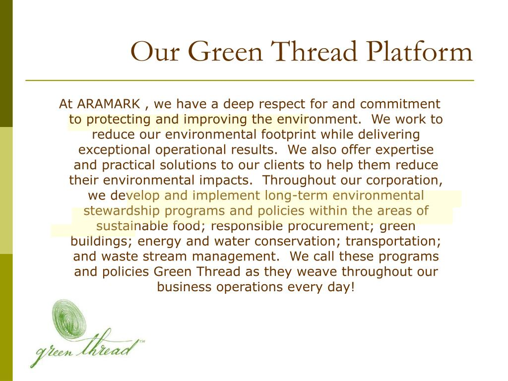 Our Green Thread Platform