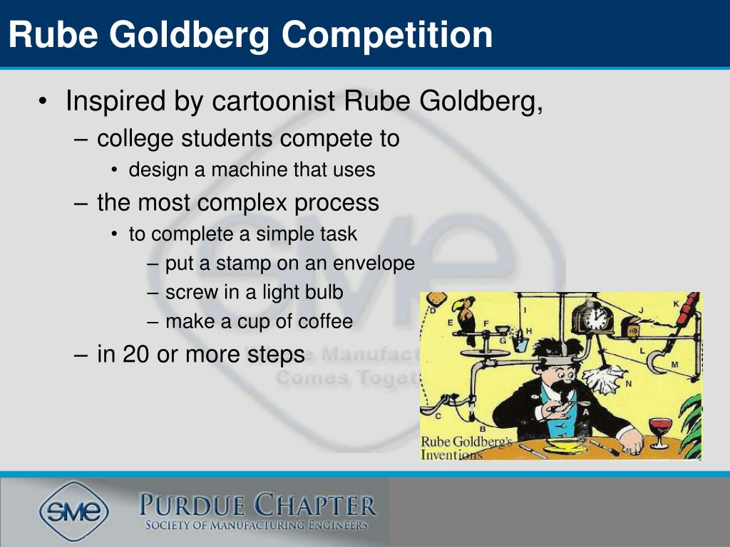 Rube Goldberg Competition