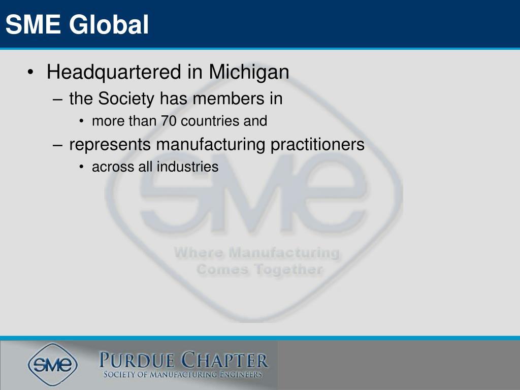 SME Global