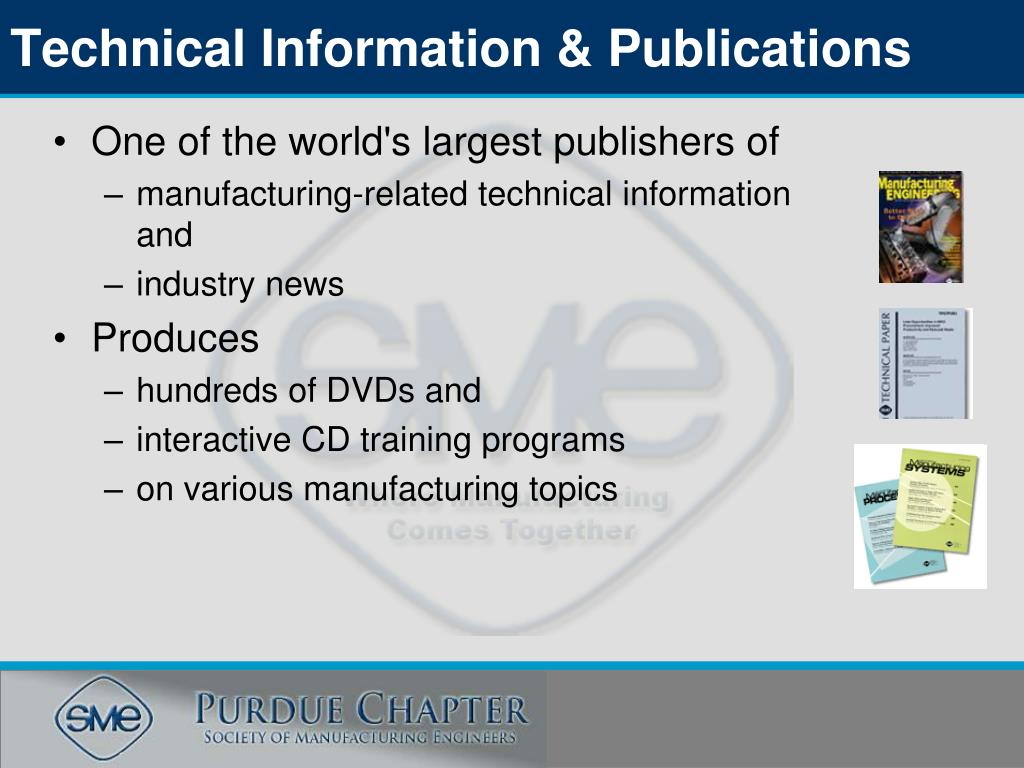 Technical Information & Publications