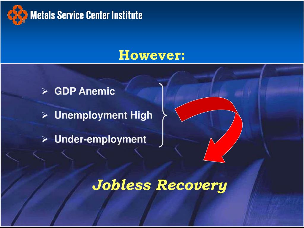 GDP Anemic