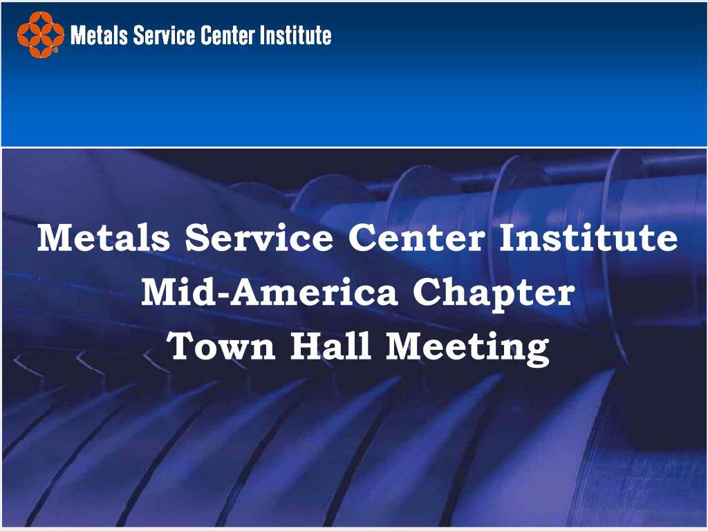 Metals Service Center Institute