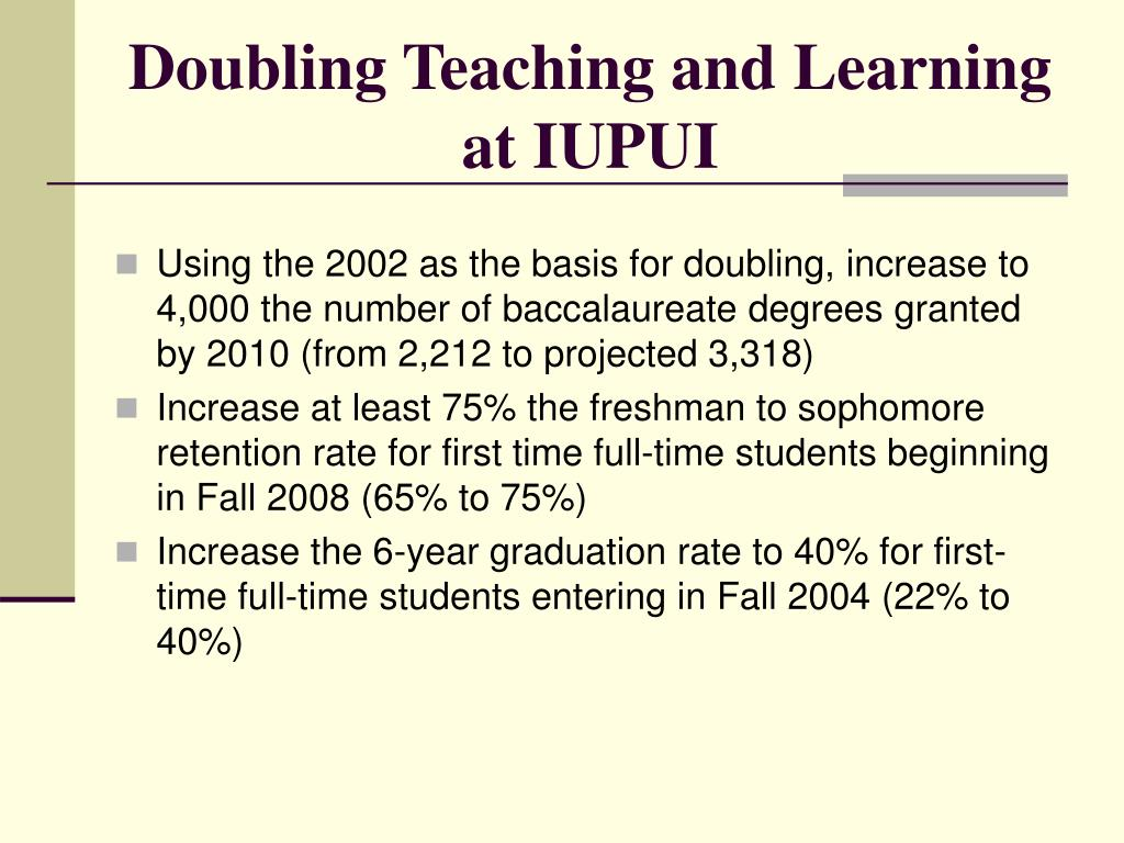 Doubling Teaching and Learning