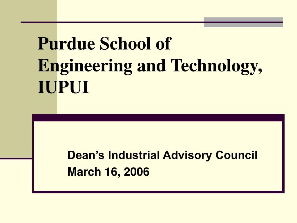 Purdue School of