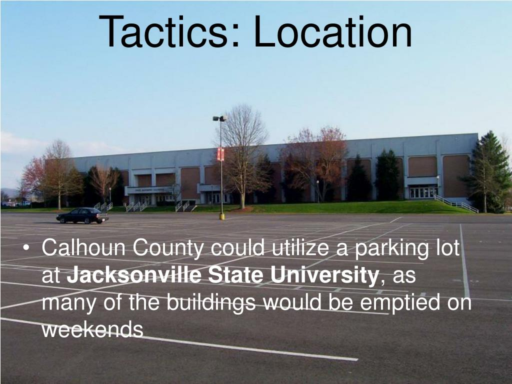 Tactics: Location