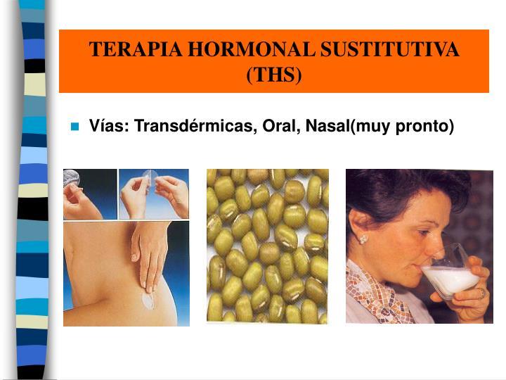 TERAPIA HORMONAL SUSTITUTIVA
