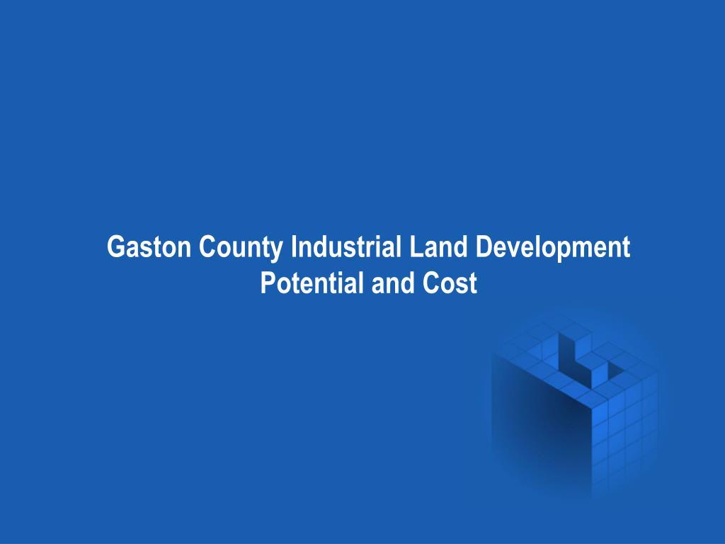 Gaston County Industrial Land Development